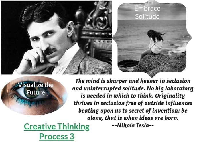 Creative force of the brain - Tesla thinking