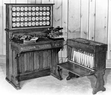 Hollerinth machine