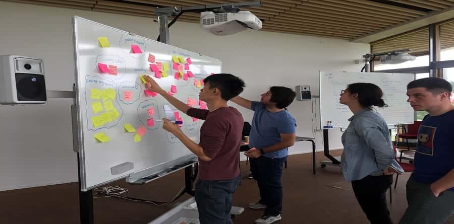 capturing ideas in brainstorming