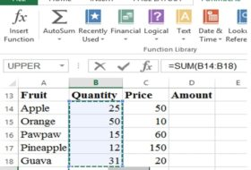 Beginners Guide to Microsoft Excel Spreadsheet Application 2