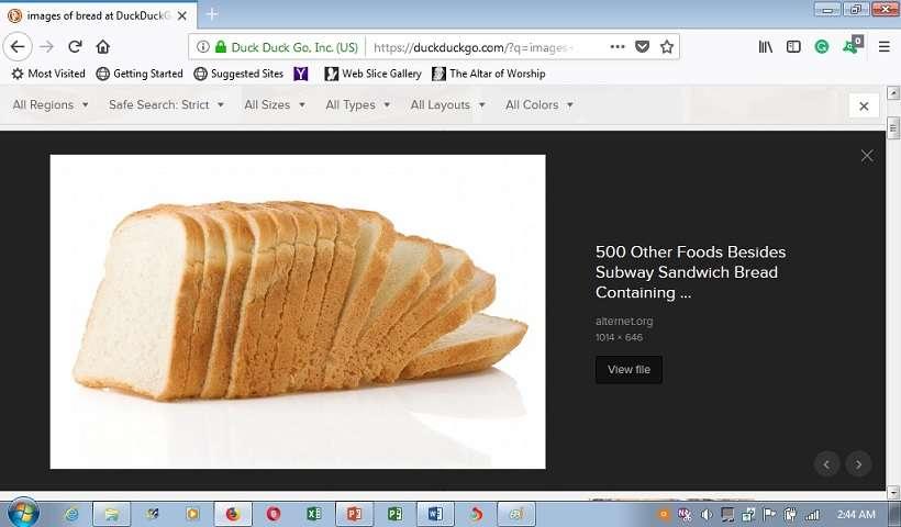 bread image enlarged