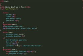 Using Transform Property and CSS3 Animations in Web Design