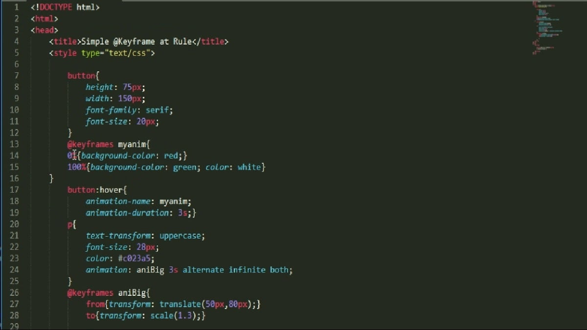 the transform property and css3 animations
