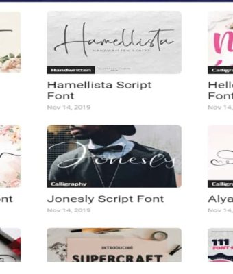 Fonts in Web Design: Working with Generic and Web Fonts Service